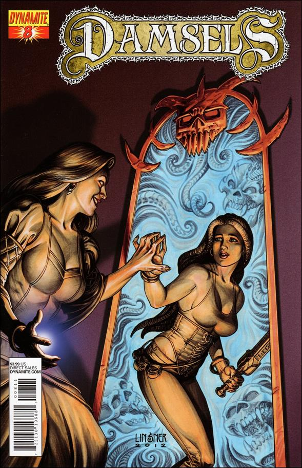 Damsels 8-A by Dynamite Entertainment
