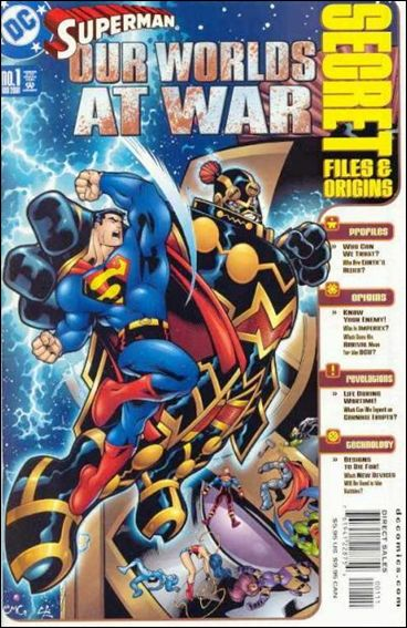 Superman: Our Worlds at War Secret Files 1-A by DC