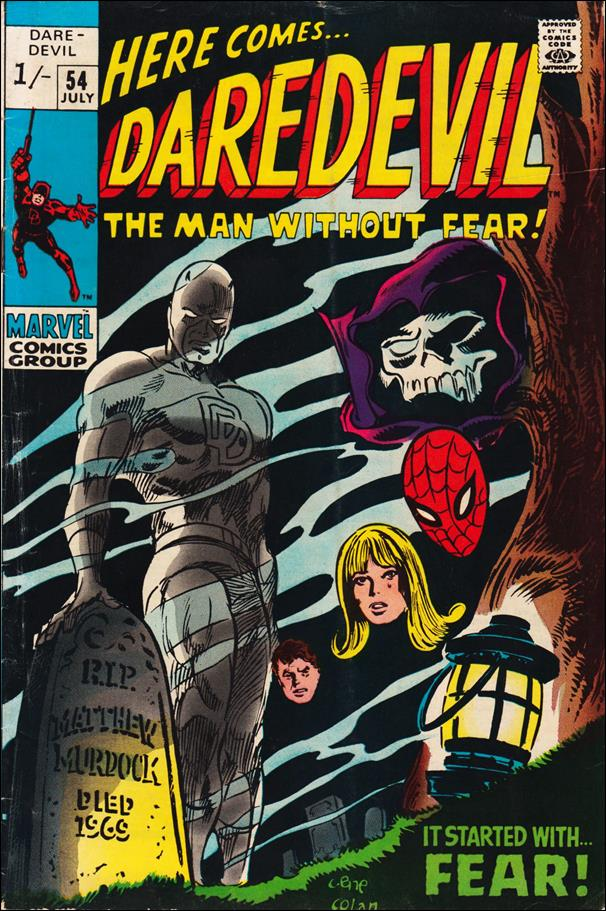 Daredevil (1964) 54-B by Marvel