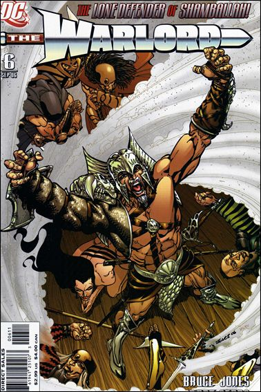 Warlord (2006) 6-A by DC