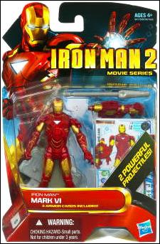 Iron Man 2 Iron Man - Mark VI (Movie Series) by Hasbro