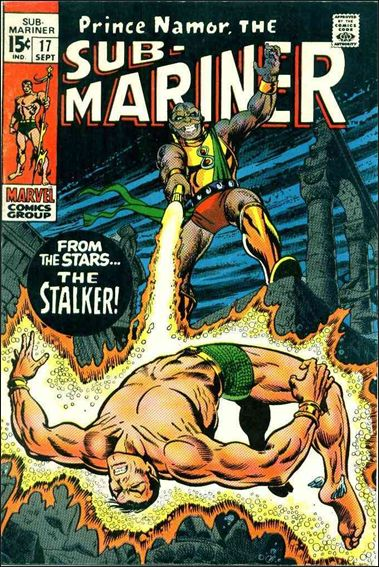 Sub-Mariner (1968) 17-A by Marvel