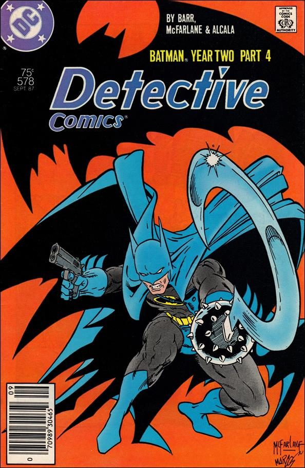 Detective Comics (1937) 578-A by DC