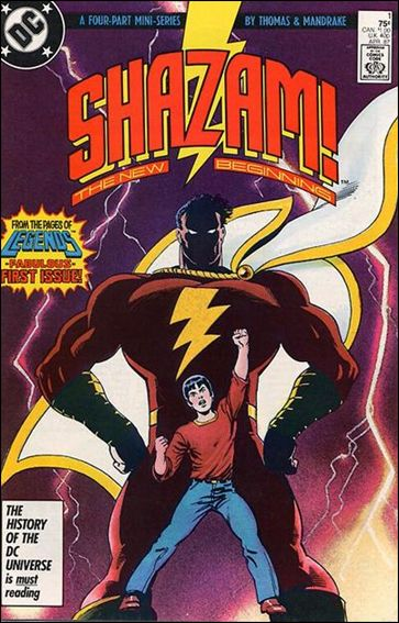 Shazam: The New Beginning 1-A by DC
