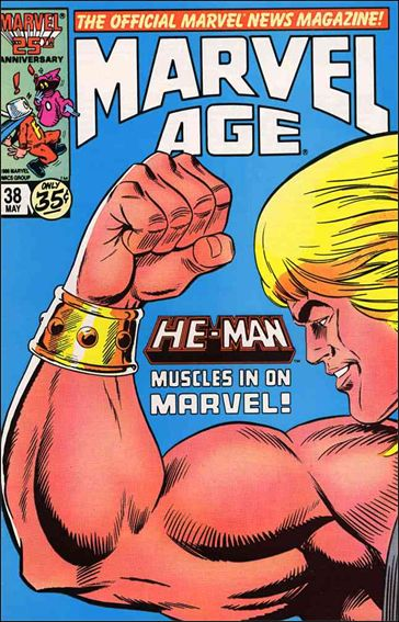 Marvel Age 38-A by Marvel