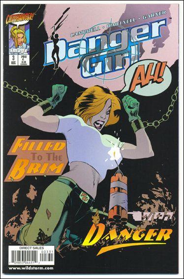 Danger Girl 3-B by Cliffhanger