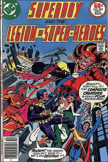 Superboy and the Legion of Super-Heroes 234-A by DC