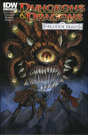 Dungeons & Dragons: Forgotten Realms 2-B by IDW