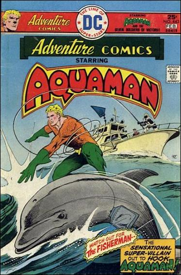 Adventure Comics (1938) 443-A by DC