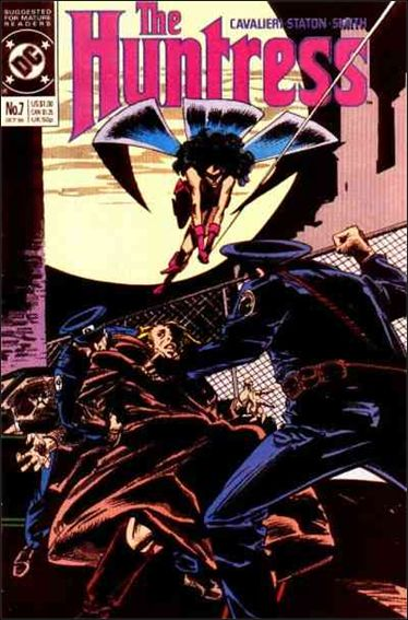 Huntress (1989) 7-A by DC