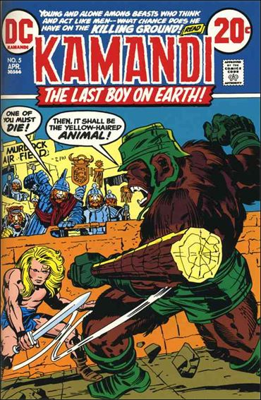 Kamandi, the Last Boy on Earth 5-A by DC