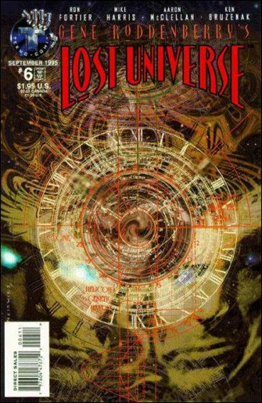 Gene Roddenberry's Lost Universe 6-A by Tekno•Comix