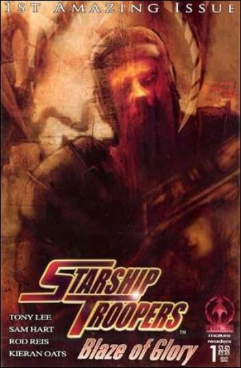 Starship Troopers: Blaze of Glory 1-D by Markosia