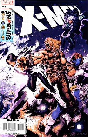 X-Men (1991) 188-A by Marvel