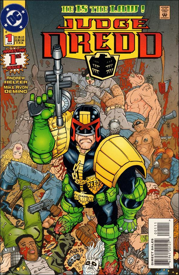 Judge Dredd (1994) 1-A by DC