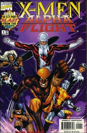 X-Men/Alpha Flight (1998) 1-A