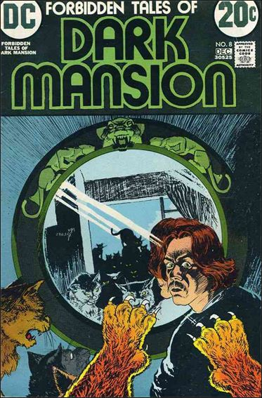 Forbidden Tales of Dark Mansion 8-A by DC