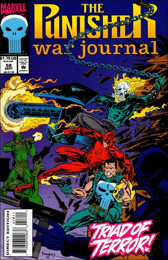 Punisher War Journal (1988) 58-A by Marvel