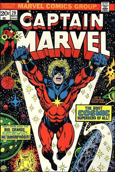 Captain Marvel (1968) 29-A by Marvel