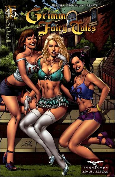 Grimm Fairy Tales (2005) 45-A by Zenescope Entertainment