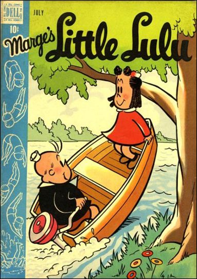 Marge's Little Lulu 13-A by Dell