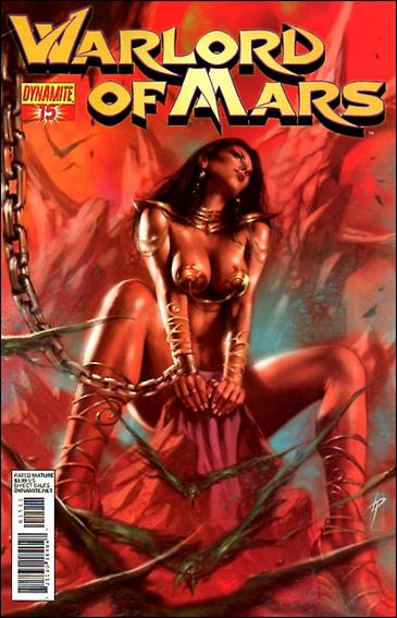 Warlord of Mars 15-D by Dynamite Entertainment