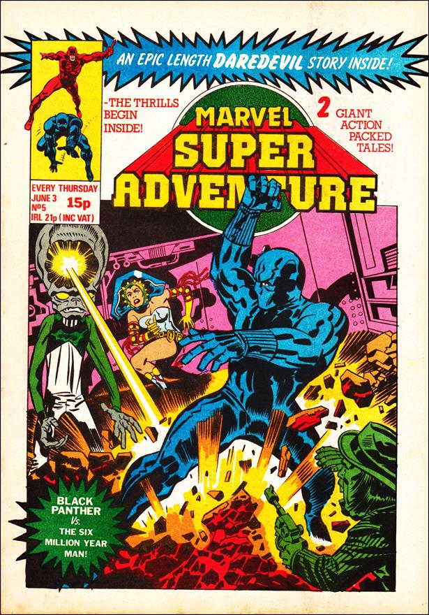 Marvel Super Adventure (UK) 5-A by Marvel UK