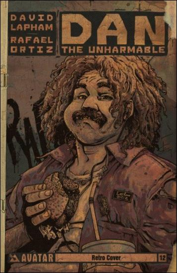 Dan the Unharmable 12-C by Avatar Press
