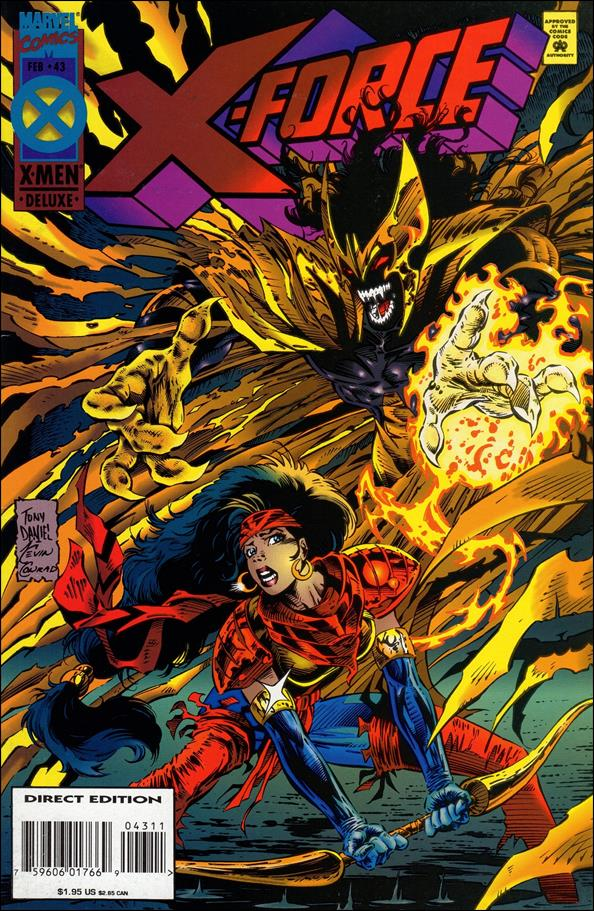 X-Force (1991) 43-A by Marvel