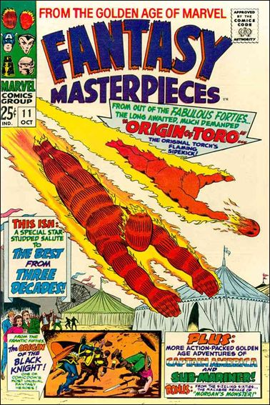 Fantasy Masterpieces (1966) 11-A by Marvel