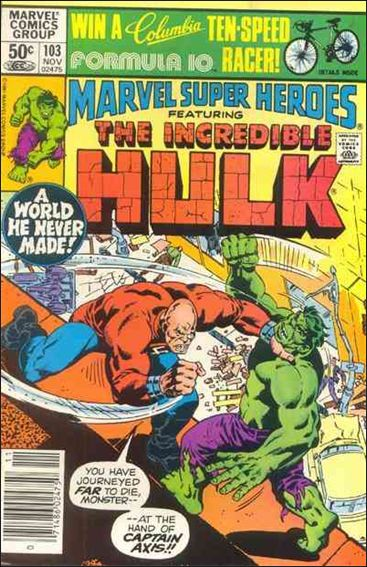 Marvel Super-Heroes (1967) 103-A by Marvel