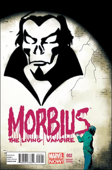 Morbius: The Living Vampire (2013) 2-B by Marvel