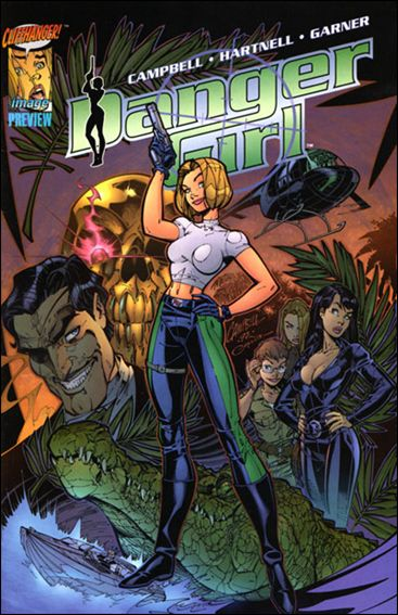 Danger Girl Preview 1-A by Image