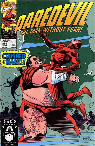 Daredevil (1964) 296-A by Marvel