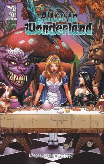 Grimm Fairy Tales Presents Alice in Wonderland 6-A by Zenescope Entertainment