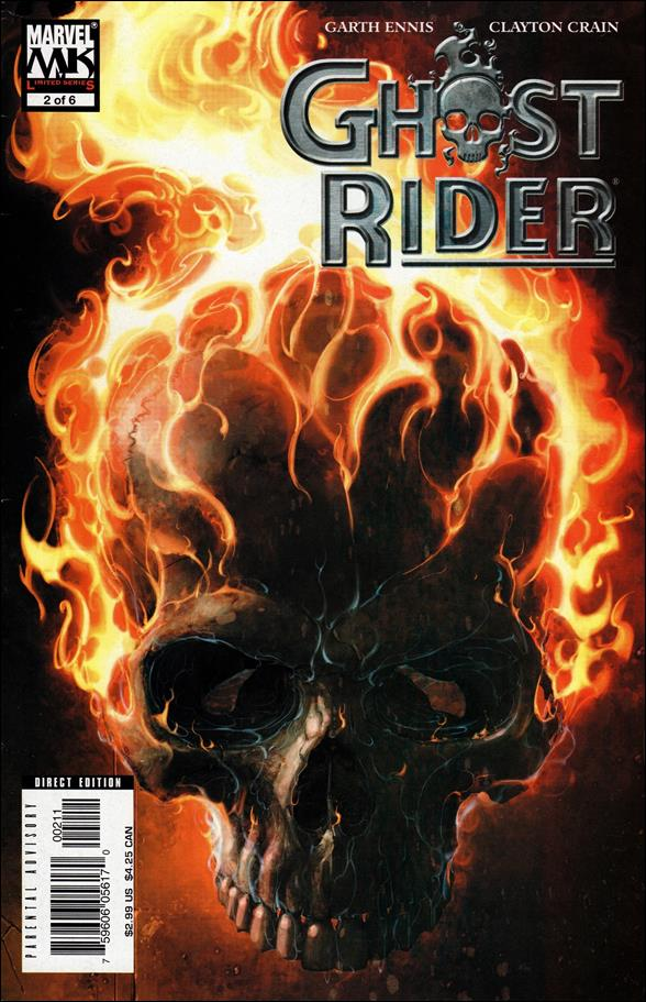 Ghost Rider (2005) 2-A by Marvel
