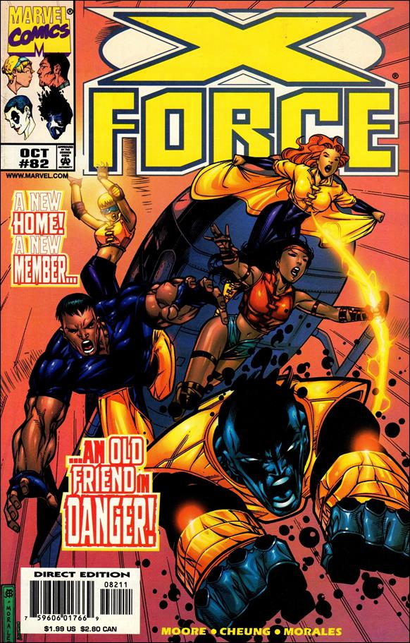 X-Force (1991) 82-A by Marvel