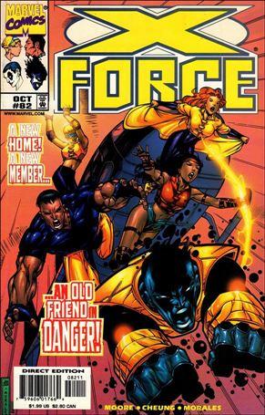 X-Force (1991) 82-A
