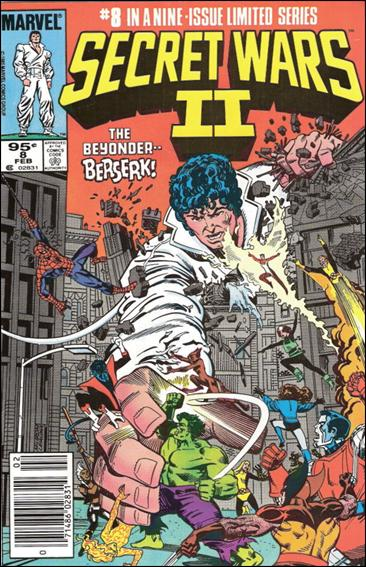 Secret Wars II 8-B by Marvel