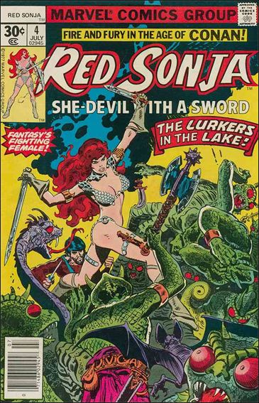 Red Sonja (1977) 4-A by Marvel