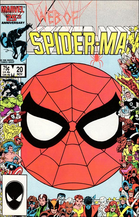 Web of Spider-Man (1985) 20-A by Marvel