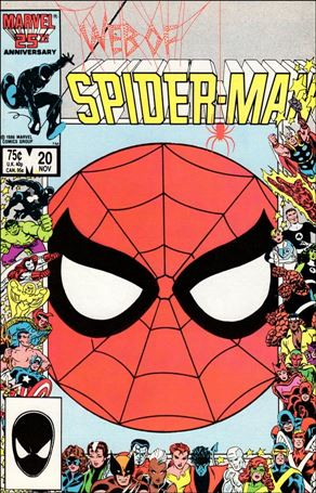 Web of Spider-Man (1985) 20-A