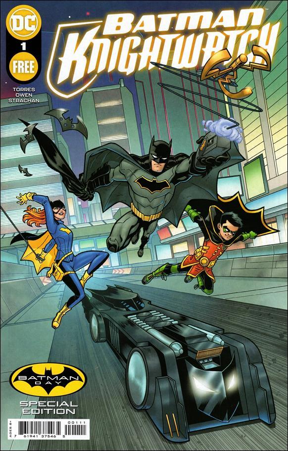 Batman - Knightwatch Batman Day Special Edition 1-A by DC
