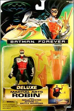 Batman Forever (Deluxe) Martial Arts Robin by Kenner
