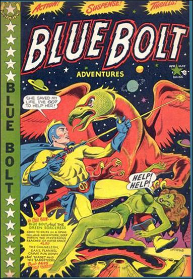 Blue Bolt Comics 105-A by Star Publications