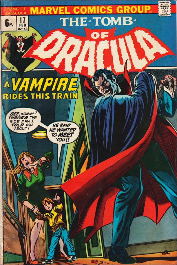 Tomb of Dracula (1972) 17-B by Marvel