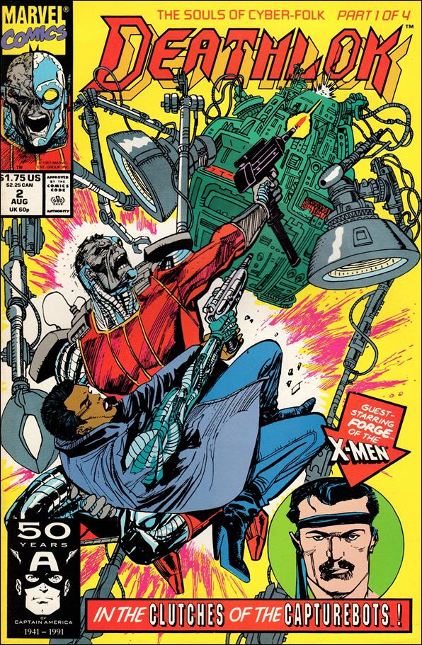 Deathlok (1991) 2-A by Marvel
