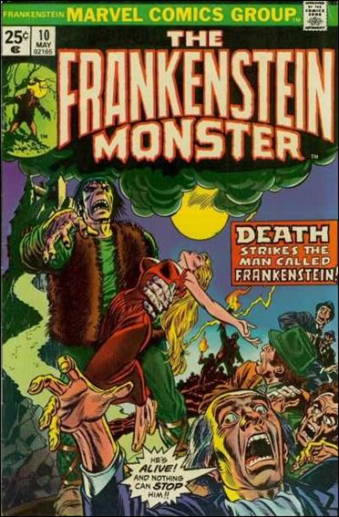 Frankenstein (1973) 10-A by Marvel