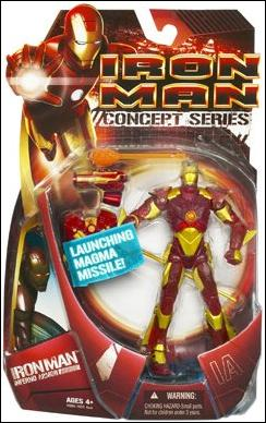 Iron Man (Movie) Iron Man (Inferno Armor) by Hasbro
