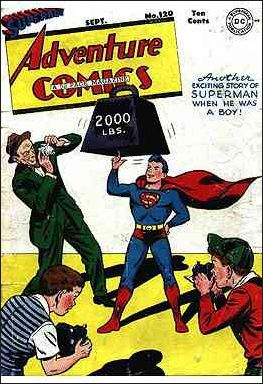 Adventure Comics (1938) 120-A by DC